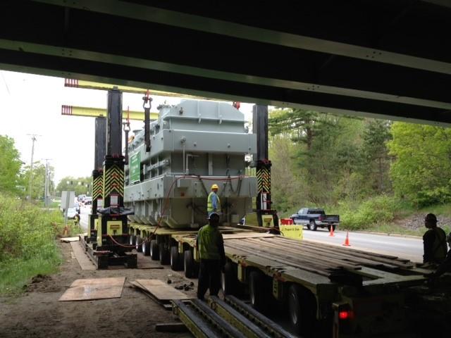 Transport of Transformer